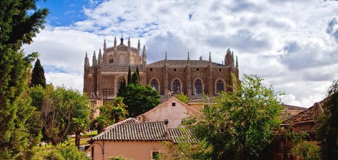 Ruta por San Juan de los Reyes en Toledo